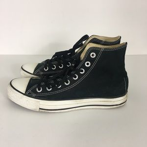 Converse Black All Star High Top Sneakers